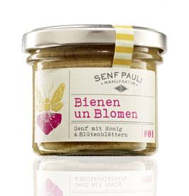Bienen un Blomen: Senf mit Honig & Blütenblättern