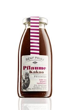 AUSVERKAUFT Soße Pflaume & Kakao: Fruchtig