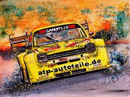 Opel RISSE Kadett C Coupe V8 GT/R #200 Holger Hovemann