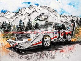Audi Sport quattro S1 Pikes Peak #1 Walter Röhrl