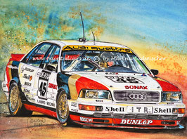 Audi V8 quattro DTM Evo #45 Frank Biela 1991