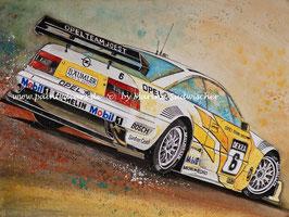 Opel Calibra V6 DTM Team Joest #6 Keke Rosberg 1994 Zolder