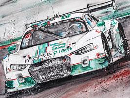 Audi R8 LMS Montaplast #28 Land Motorsport 2016