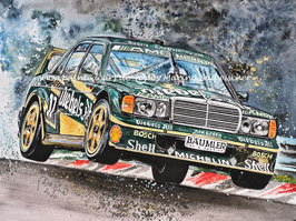 Mercedes Benz 190E2.5EVO2DTM #17 Roland Asch 1992