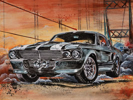 """Ford Mustang Shelby GT500 1967 """"Eleanor"""""""
