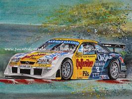 Opel Calibra DTM #2 Keke Rosberg 1995