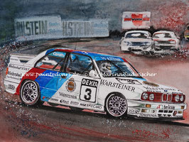 BMW M3 E30 DTM 1991 #3 Johnny Cecotto Team Schnitzer