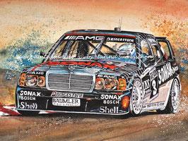 Mercedes Benz 190E2.5EVO2DTM #3 Klaus Ludwig 1992