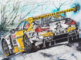 BMW M6 GTT3 #100 Chrystal Flake Walkenhorst Motorsport