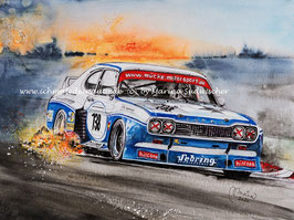 Ford Capri RS3100 Cosworth #138 Peter Mücke