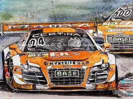 Audi R8 LMS kfzteile24 #24 Mücke Motorsport Mike David Ortmann