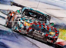 BMW Z4 GT3 PP GROUP #36 Peter Posavac Walkenhorst Motorsport