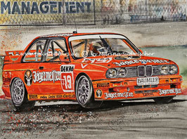BMW M3 E30 DTM 1992 #19 Armin Hahne Team Linder Jägermeister