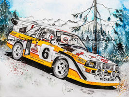 Audi Sport quattro S1 #6 Stig Blomqvist