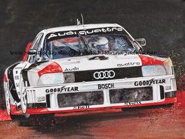 Audi 90 quattro IMSA GTO #4 Hans-Joachim Stuck 1989