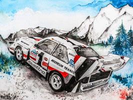 Audi Sport Quattro S1 E2 Pikes Peak #1 Walter Röhrl