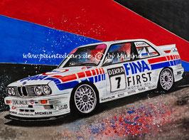BMW M3 E30 #7 Johnny Cecotto DTM 1992 Fina