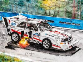 AUDI Sport Quattro S1 #1 Walter Röhrl Postalm
