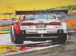 Audi RS5 DTM Team Rosberg #33 Rene Rast DTM Meister 2020