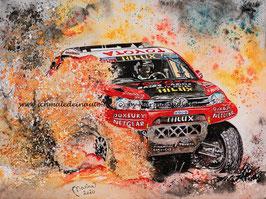 Toyota Hilux Rallye Dakar #310 Bernhard ten Brinke