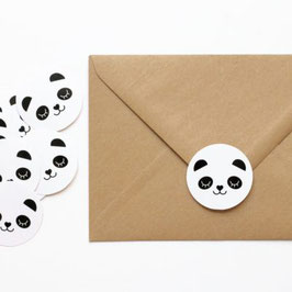 STICKERS PANDA - LOT DE 10 (Zü)