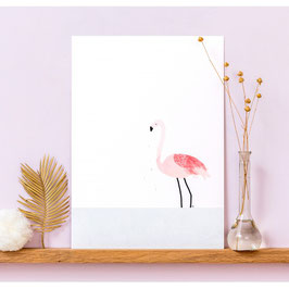 "Affiche ""Flamingo"" (My Lovely Thing)"