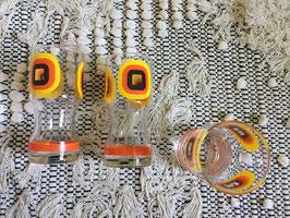 Lot de 3 verres à orangeade