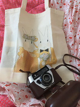 "Tote Bag ""Les Mariés"" (My Lovely Thing)"