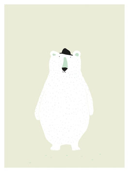 "Affiche ""Polar Bear"" (Trixie)"