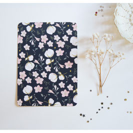 """Carte """"Motif floral marine"""" (My Lovely Thing)"""