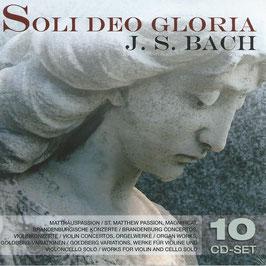 Johann Sebastian Bach: Soli Deo Gloria (10CD, Membran)