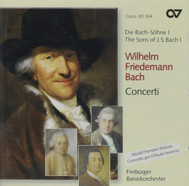 Wilhelm Friedemann Bach: Concerti (Carus)