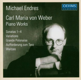 Carl Maria von Weber: Piano Works (2CD, Oehms)