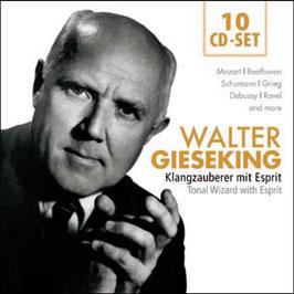 Gieseking, Tonal Wizard with Esprit (10CD, Membran)