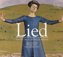 Lied: Beethoven, Schubert, Schumann, Brahms, Wolf, Dvorak, Korngold (3CD, Harmonia Mundi)