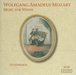 Wolfgang Amadeus Mozart: Music for Winds (2CD, Accent)