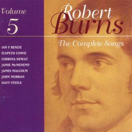 Robert Burns: The Complete Songs, volume 5 (Linn)