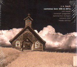 Johann Sebastian Bach: Cantatas BWV 206 & 207a (Sony)