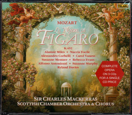 Wolfgang Amadeus Mozart: Le Nozze di Figaro (3CD, Telarc)