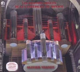 Les Grandes Orgues de la Cathédrale de Monaco (2CD, Ligia Digital)