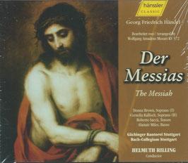 Wolfgang Amadeus Mozart: Der Messias (2CD, Hänssler)