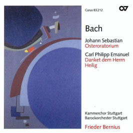 Johann Sebastian Bach: Osteroratorium, Carl Philipp Emanuel Bach: Danket dem Herrn, Heilig (Carus)