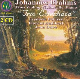 Johannes Brahms: Trios Violon, Violoncelle, Piano (2CD, BNL)