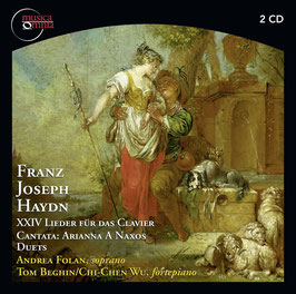 Franz Joseph Haydn: XXIV Lieder für das Clavier, Cantata: Arianna a Naxos, Duets (2CD, Musica Omnia)