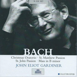 Johann Sebastian Bach: Christmas Oratorio, St. Matthew Passion, St. John Passion, Mass in B minor (9CD, Archiv)