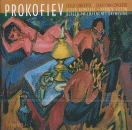 Sergei Prokofiev: Cello Concerto, Symphony-Concerto (Hyperion)