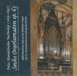 Felix Mendelssohn-Bartholdy: Sechs Orgelsonaten op. 65 (Auris Subtilis)
