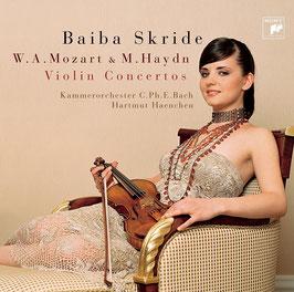 Wolfgang Amadeus Mozart, Michael Haydn: Violin Concertos (Sony)
