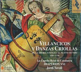 Villancicos y Danzas Criollas de la Iberia Antiqua al Nuevo Mundo (Alia Vox)