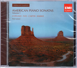 American Piano Sonatas, Volume 1: Copland, Ives, Carter, Barber (EMI)
